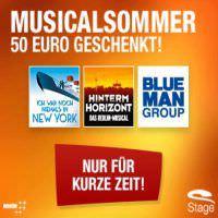 stage musicalsommer 50 euro rabatt bei kauf von 2 tickets. Black Bedroom Furniture Sets. Home Design Ideas