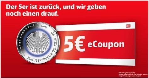 Bahn 5 Euro