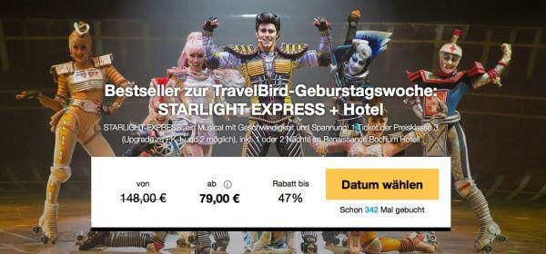 Travelbird Starlight Express