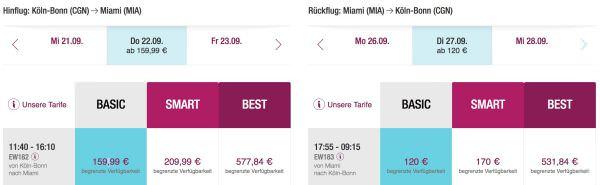 Eurowings Miami