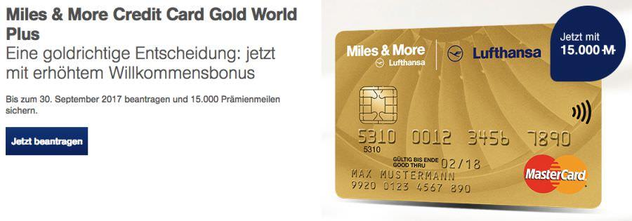 Lufthansa MasterCard