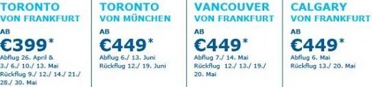 Toronto ab 399 Euro