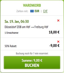 Gutscheincode für meinfernbus de