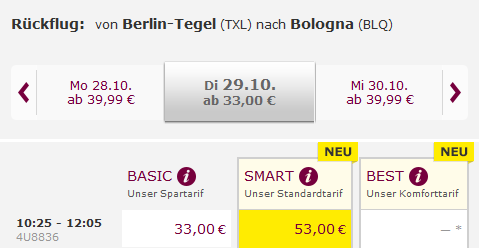 Germanwings Smart Tarif Billiger Buchen Auf Der Lufthansa Homepage
