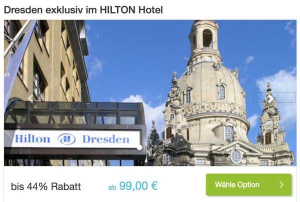 Hilton Dresden DailyDeal
