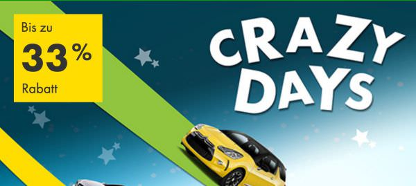 Europcar Crazy Days