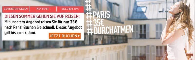Bahn 10 000 Tickets Nach Paris Mit Tgv Und Ice Fur 29