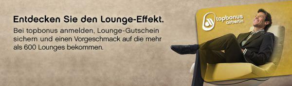 topbonus Lounge-Gutschein
